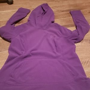 Womens The North Face light hooded sweatshirt